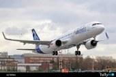 A321neo realiza su primer vuelo