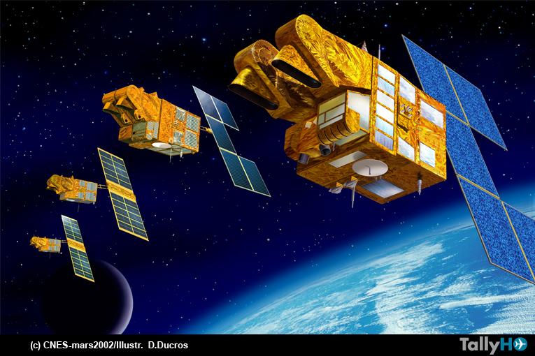 Tres décadas del programa de satélites de observación de la Tierra SPOT