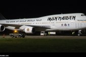 Todo listo para la gira «The Book of Souls» de Iron Maiden con el Ed Force One