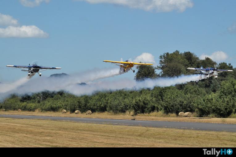 Jornada inaugural: X Festival Aéreo Internacional de Villarrica