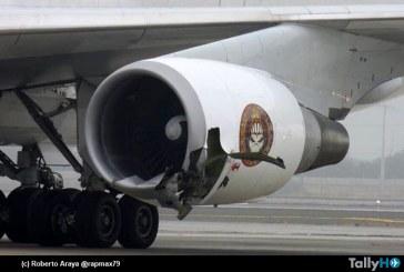 Avión Ed Force One de la banda de rock Iron Maiden resulta con daño en dos motores