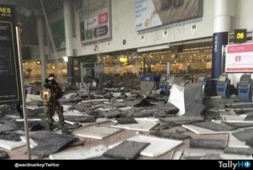 Europa en Alerta, dos atentados en Aeropuerto de Bruselas