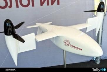 Rusia desarrolla y prueba con éxito un convertiplano no tripulado