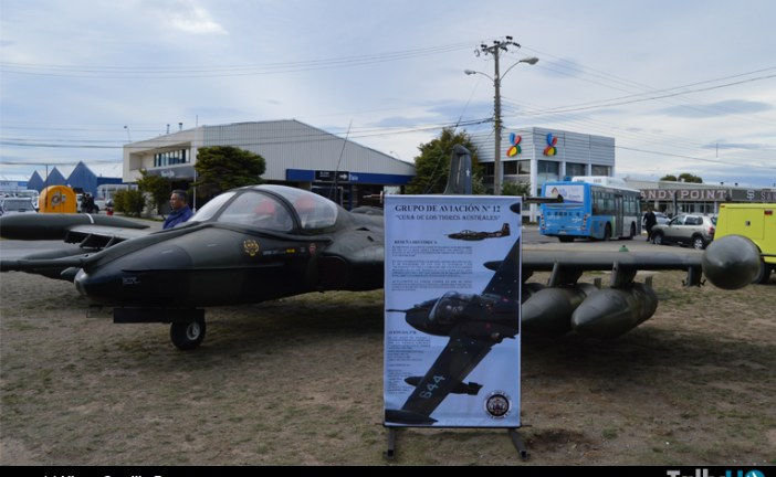 Exposición FACH en Punta Arenas