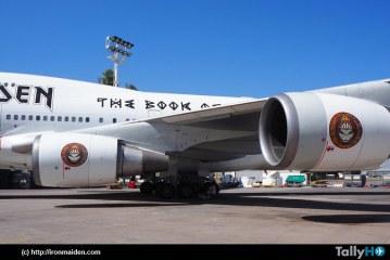 Ed Force One ya está reparado y volará rumbo a Brasil