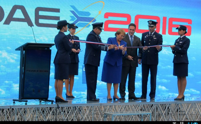 Ceremonia de Inauguración de FIDAE 2016