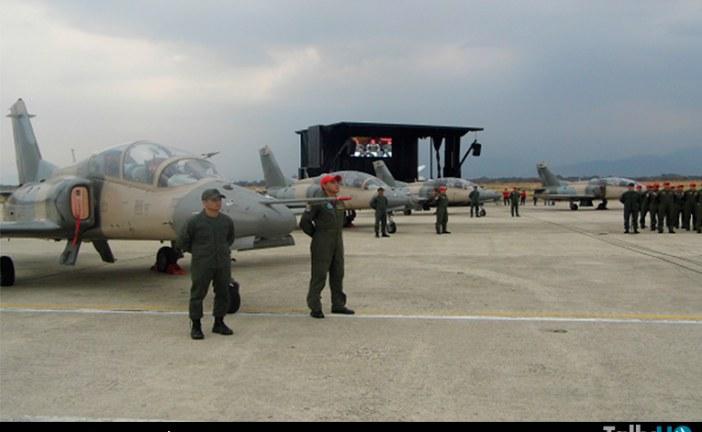 Aviación Militar Bolivariana recibió aviones Hongdu K-8W