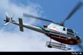 Helicóptero sufre accidente en sector de Mina Los Bronces