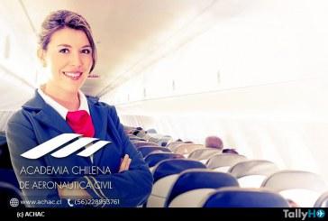 Academia Chilena de Aeronáutica Civil una excelente alternativa profesional