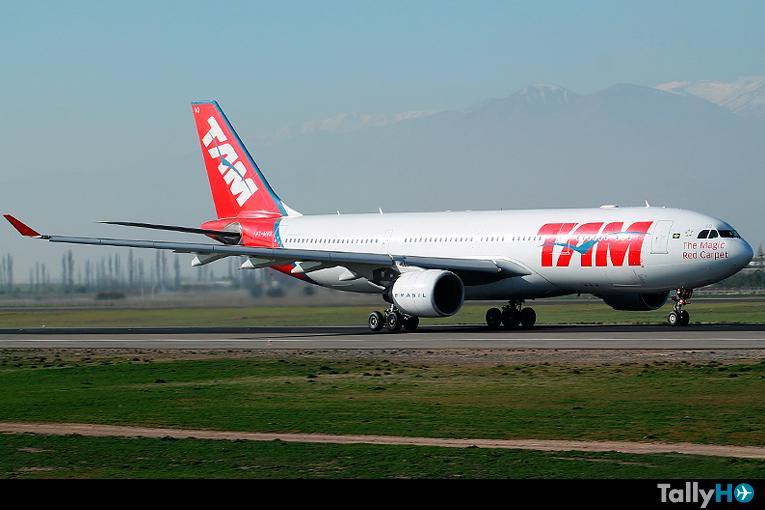 Adiós a los Airbus A330 de TAM