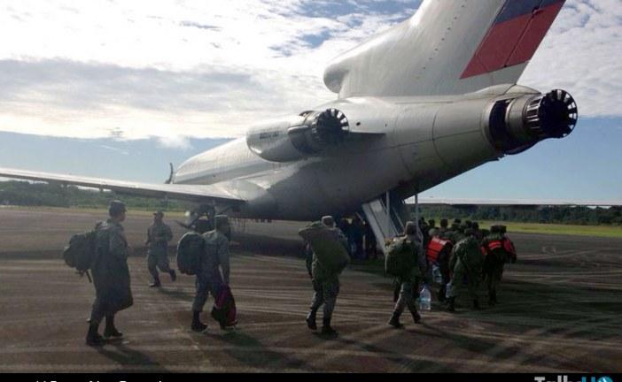 Fuerza Aérea Ecuatoriana se moviliza por terremoto en provincia de Manabí