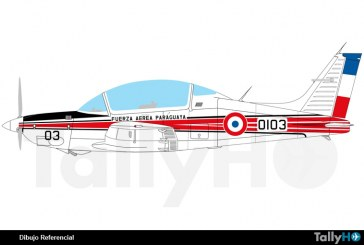 Accidente T-35 Pillán de la Fuerza Aérea Paraguaya
