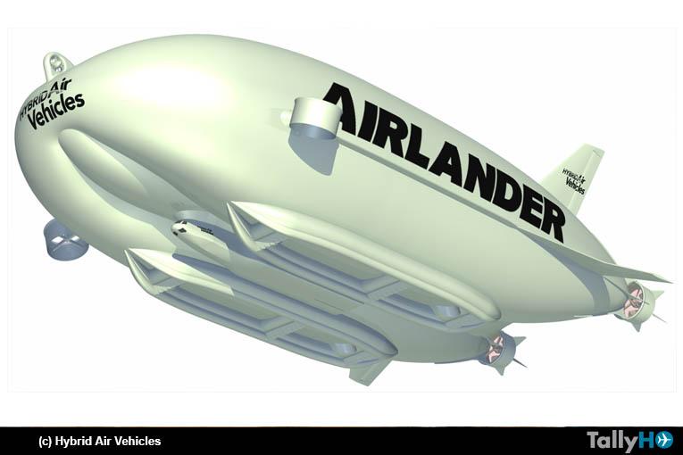 Airlander 10: la aeronave más grande del mundo