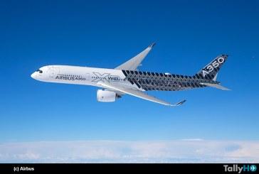 FAA aprobó el Airbus A350 XWB con ETOPS más allá de 180 minutos