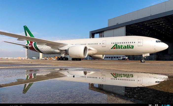 Después de 15 años volvió Alitalia a operar en Chile