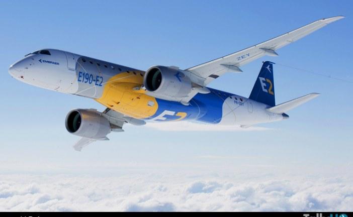 El Embraer E190-E2 realizó su primer vuelo
