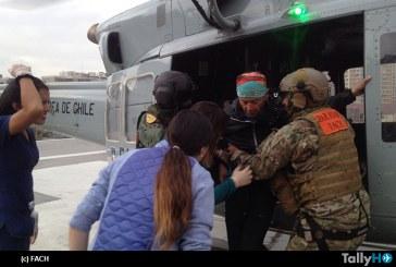 FACH realizó exitosa evacuación aeromédica desde la Cordillera en Santiago