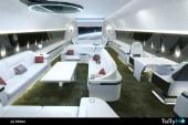 Airbus lanza el nuevo A350 en versión corporativa