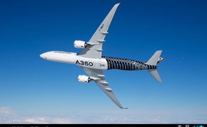 A350XWB iniciará gira de demostración por China