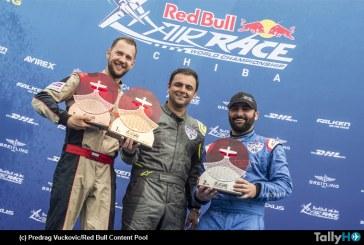 Primer lugar para Cristian Bolton en el Red Bull Air Race en Chiba Japón