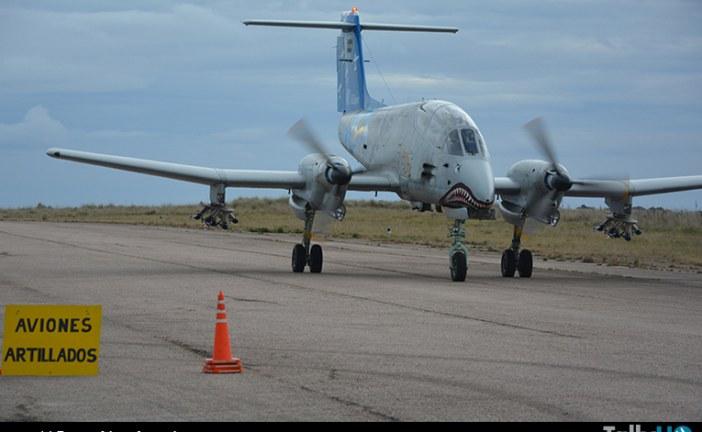 Ejercicio LARUS 2016 de la Fuerza Aérea Argentina