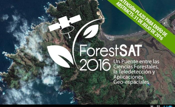 En noviembre se realizará el VII Congreso ForestSAT 2016
