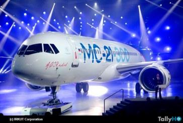 Avión Irkut MC-21 fue presentado hoy en Rusia