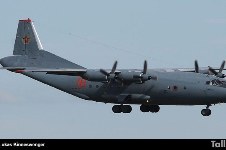 60 años del primer vuelo del Antonov An-12