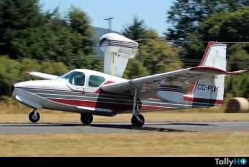 Se estrella en Chiloé avión Lake LA-4
