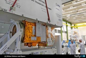 Segundo satélite Sentinel 2B del Programa Copernicus será sometido a ensayos medioambientales