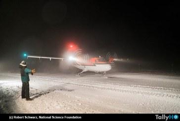 Compleja operación de evacuación aeromédica en la Antártica con aviones Twin Otter