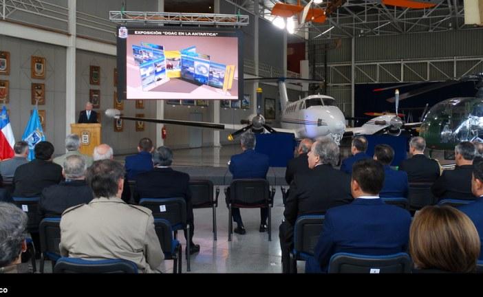 Ceremonia 72 aniversario del Museo Nacional Aeronáutico y del Espacio
