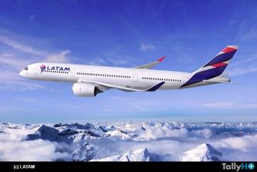 LATAM Brasil anunció que volará con sus Airbus A350 a Santiago