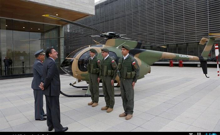 Ejército y ENAER firman contrato de mantenimiento de aeronaves
