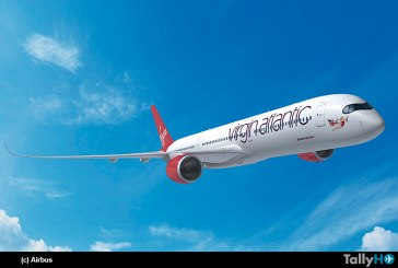 Airbus A350 será aeronave insignia de Virgin Atlantic