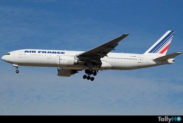 Cambio de horario en vuelo Santiago – París de Air France