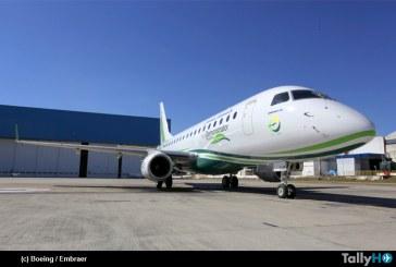 Boeing y Embraer presentaron nuevo avión ecoDemostrador