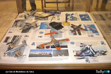 Exposición «Halcones 35 años en los cielos del mundo» en Talca