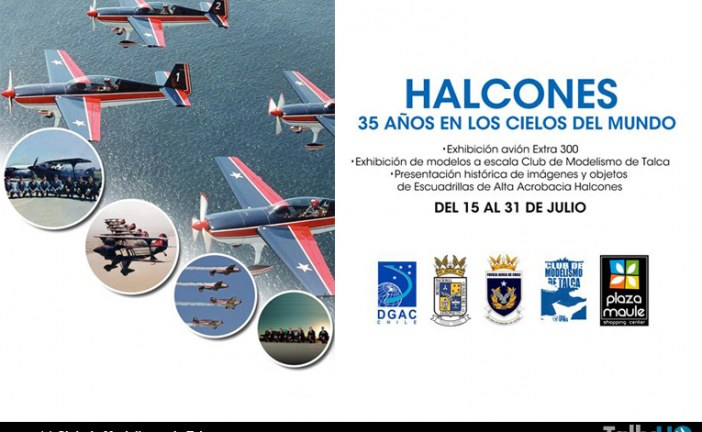 Club de Modelismo de Talca y Museo Aeronáutico abrirán exposición en Mall Maule
