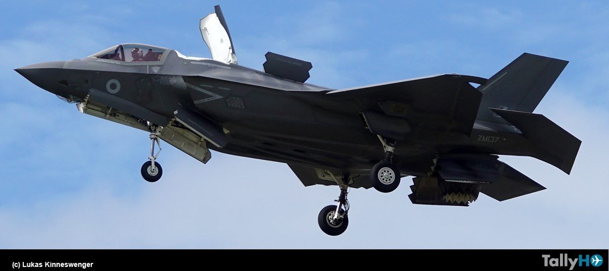 F-35 Lighting II deslumbró en Farnborough