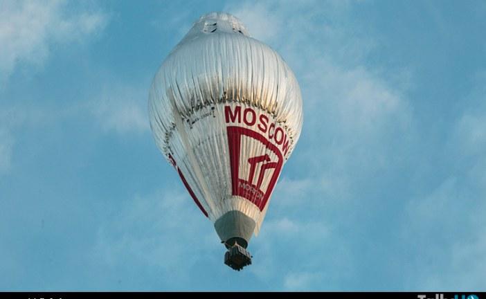 Vuelta alrededor del mundo del Globo «Morton» pasó por Chile