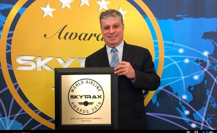 """LAN, ahora LATAM Airlines, elegida """"Mejor Aerolínea de Sudamérica"""""""