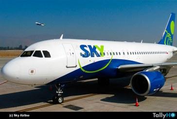 SKY Airline inauguró vuelo directo entre Santiago y Córdoba