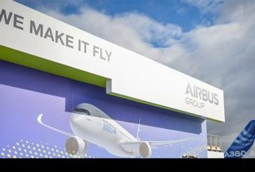 Destacadas ventas y pedidos de aviones comerciales de Airbus en Farnborough