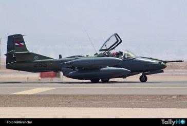 Se estrella avión A-37B de la Fuerza Aérea Uruguaya