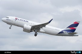Más de 200 aviones de la familia A320 actualizará LATAM Airlines para ahorrar combustible