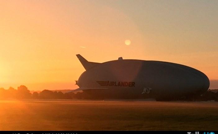"""Segundo vuelo del Airlander 10 termina con """"violento aterrizaje"""""""