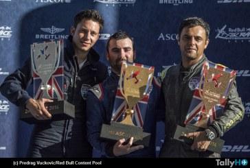 3er lugar para Cristian Bolton en el Red Bull Air Race de Ascot