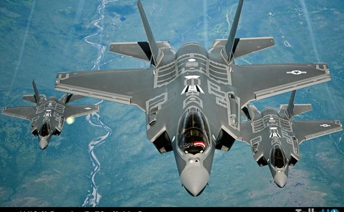 F-35A Lighting II de la USAF listo para el combate
