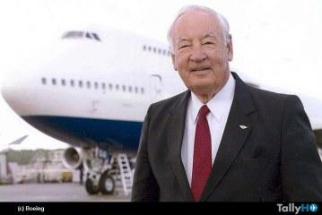 """Fallece Joe Sutter """"padre"""" del Boeing 747"""
